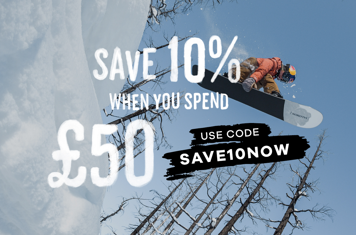 SAVE 10% WHEN YOU SPEND £50