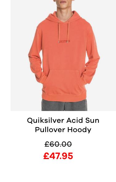 Quiksilver Acid Sun Pullover Hoody