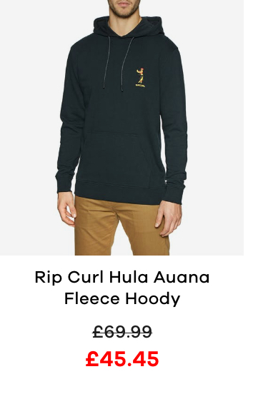 Rip Curl Hula Auana Fleece Pullover Hoody