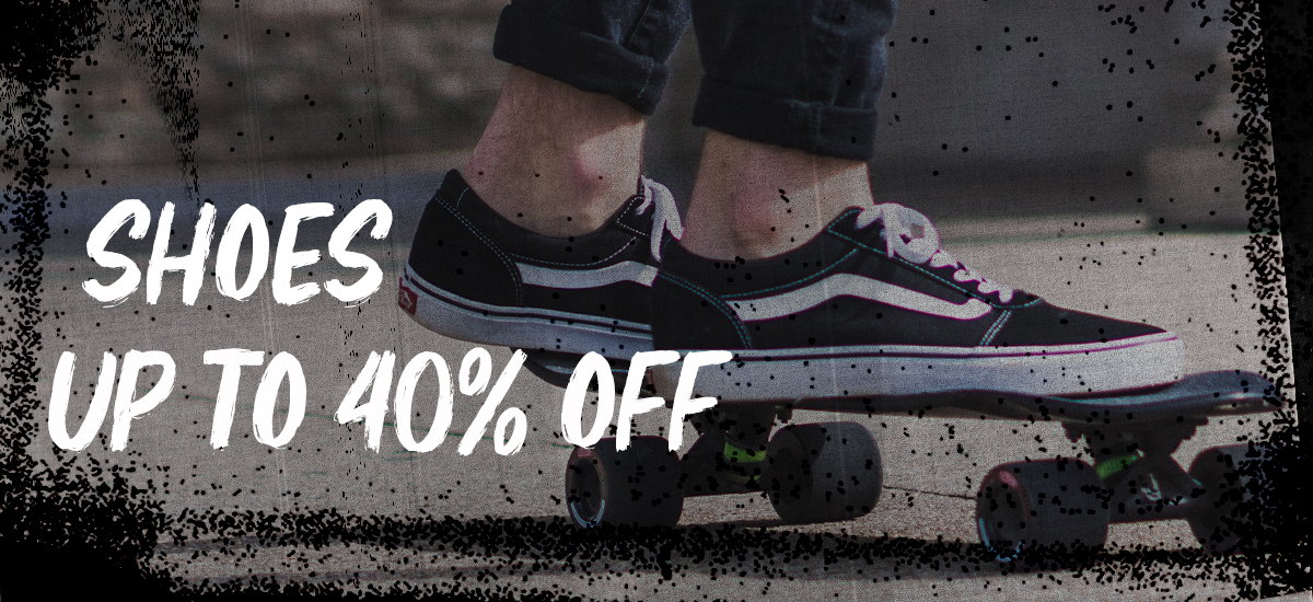 SHOES | UP TO 40% OFF