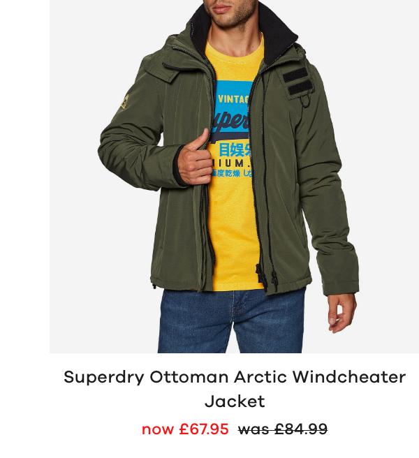 Superdry Ottoman Arctic Windcheater Jacket
