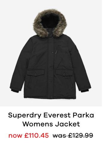 Superdry Everest Parka Womens Jacketdry Everest Parka Womens Jacket